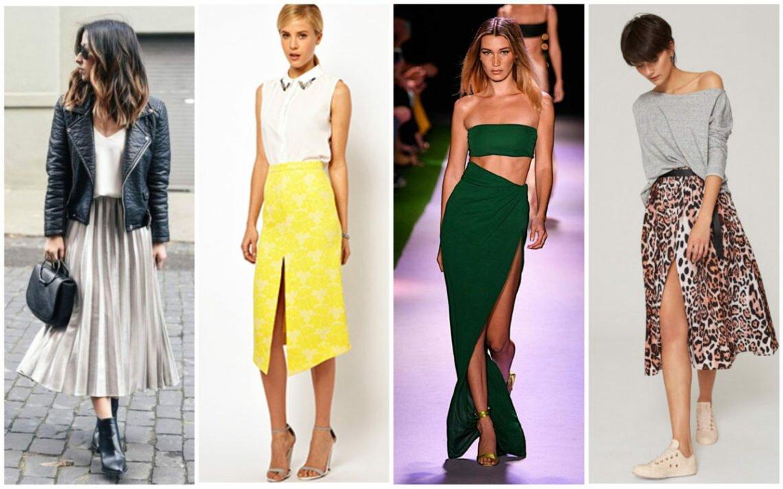 Какие юбки носить летом — тренды 2020