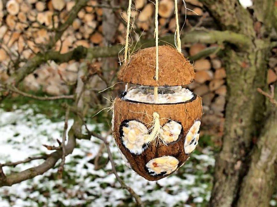 Кормушки для птиц органический handmade-7