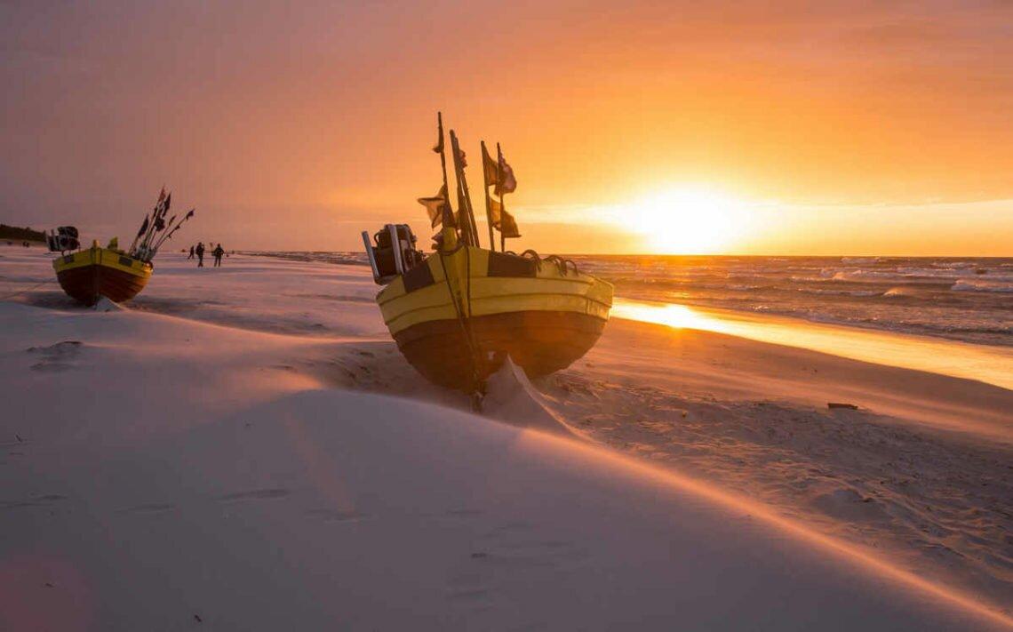 Крыница-Морска – самые дикие, длинные и широкие пляжи