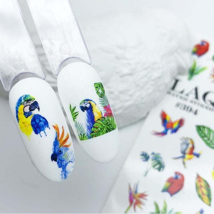 manikyur-idei-vodnye-naklejki-pticzy