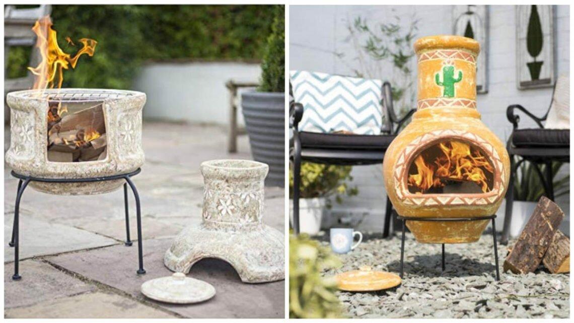 Мексиканский камин — практичное решение для прохладных вечеров в саду