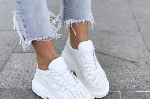 Модные кроссовки весна-лето