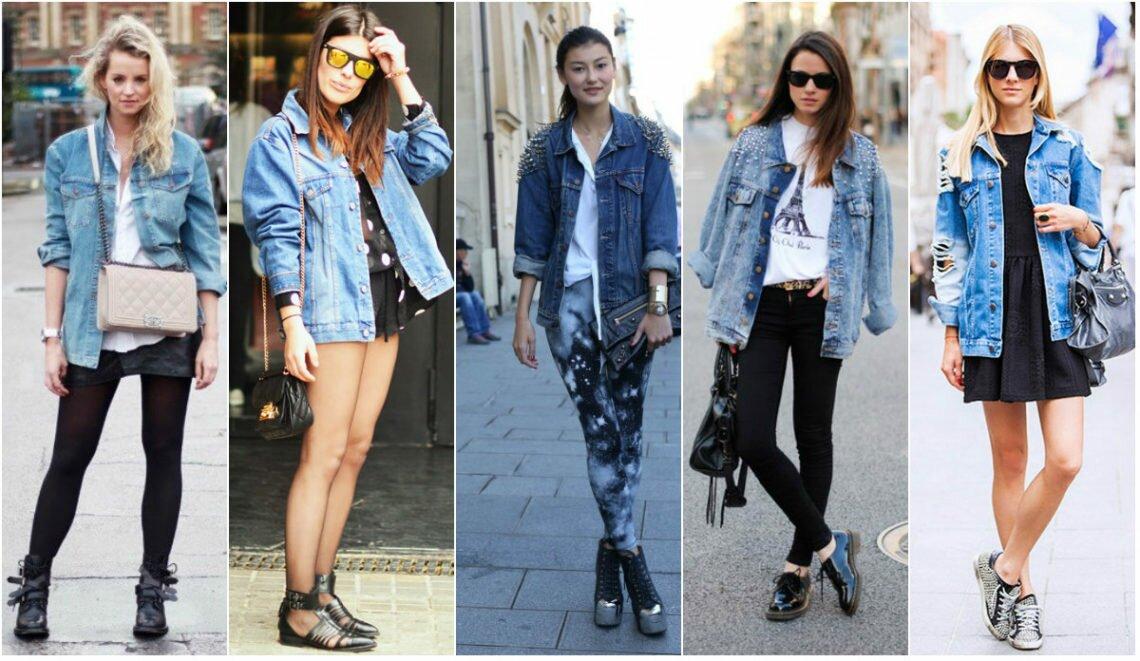 Образы с джинсовой курткой — сочетания для сезона 2020