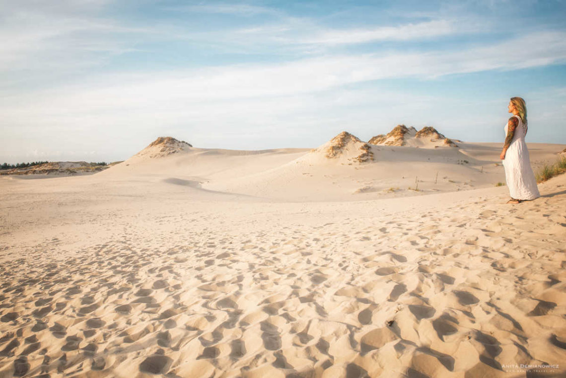 Отдых на Балтике_песчаные дюны в Национальном Словинском парке