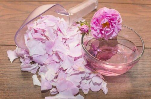 «Розовая вода» для ухода за лицом — сделайте дома по рецепту