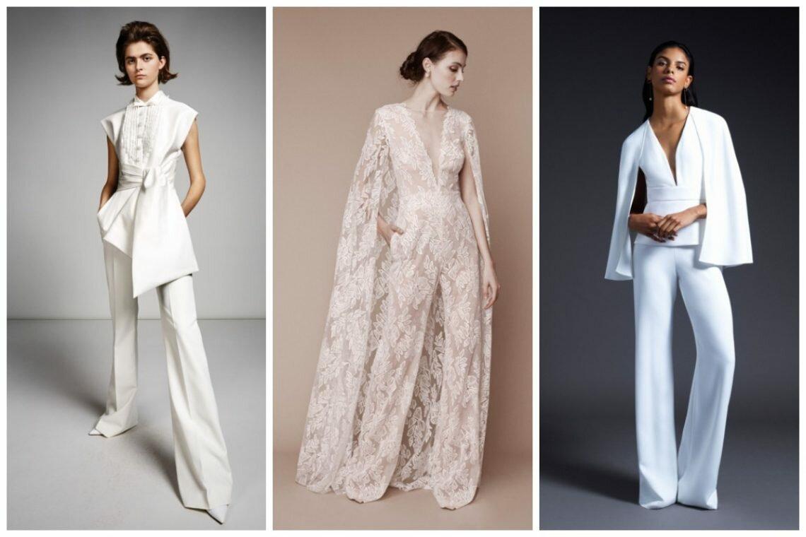 Женский костюм на свадьбу 2020 — пора ломать систему «женщины в платье»