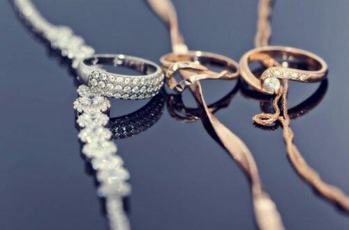 Золото и серебро - идеальные украшения для свадьбы